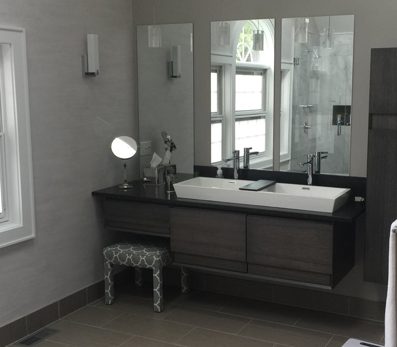 master bathroom remodel in milton, ma