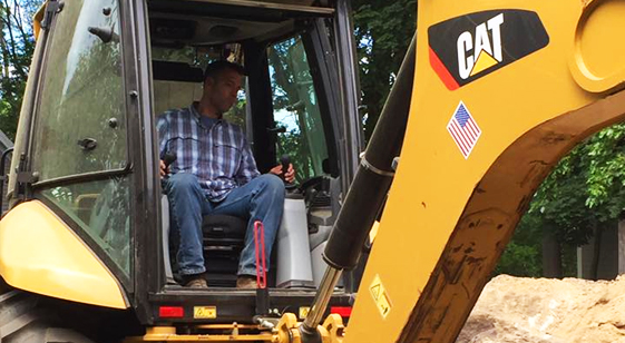 backhoe contractor in massachusetts