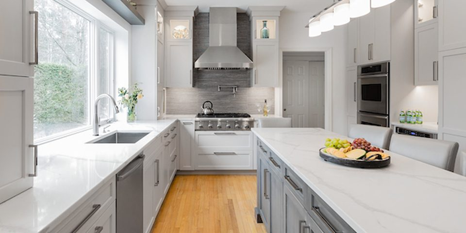 kitchen renovation in Canton, MA
