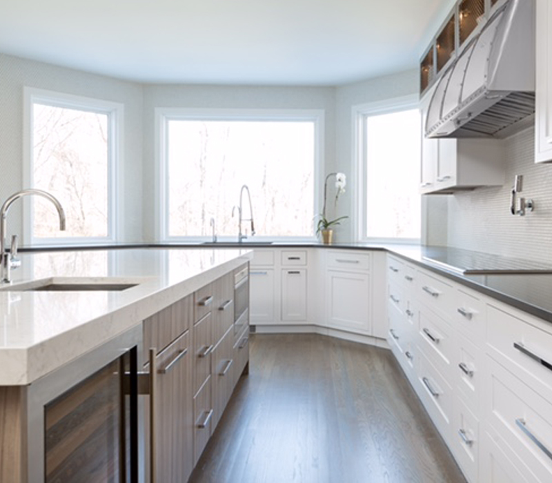kitchen remodel in westwood, ma