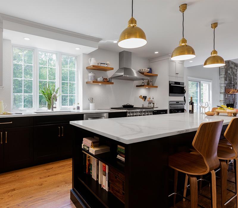 custom kitchen cabinets in Sharon, MA